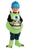 Monsters Inc. Disney Mike Candy Catcher Costume