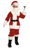 Father Christmas Santa Claus Kids Costume